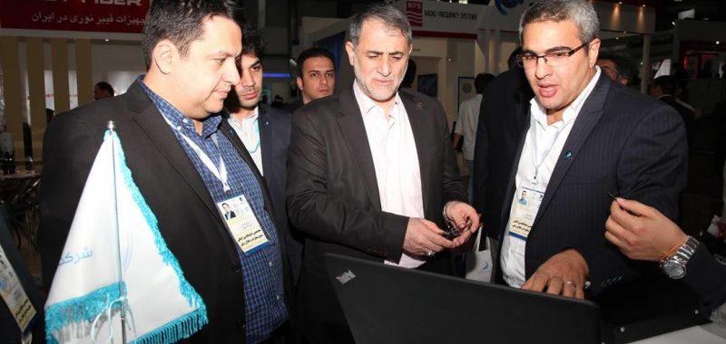 بازدید مهندس سرائیان مدیرعامل شرکت مخابرات ایران