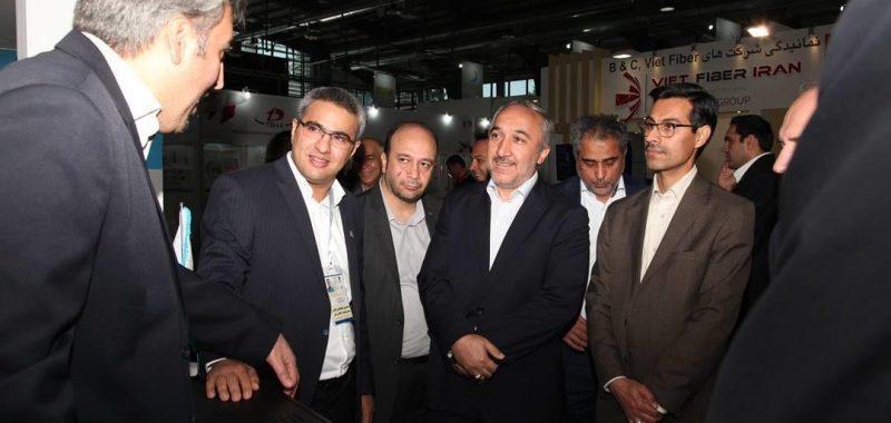 بازدید مهندس علیرضا صیدی مشاور مدیرعامل مخابرات ایران و جناب آقای مهندس ارشدی مدیرکل مناطق شرکت ارتباطات سیار