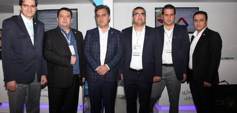 بازدید مهندس مرتضی طاهری بخش معاون محترم فنی و توسعه شبکه شرکت ارتباطات سیار